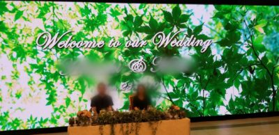 結婚式のお打ち合わせに同行させて頂きました!